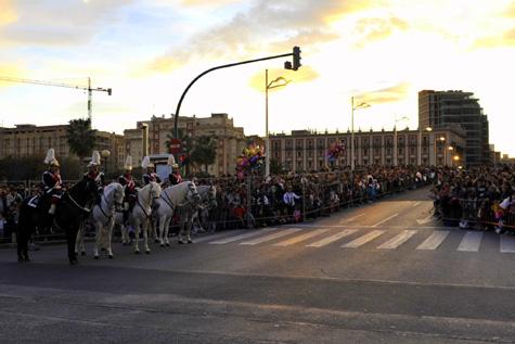 Alameda, esperando a los Reyes