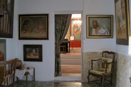 Salón de la casa de Paquita Sabrafén - Lietor (Albacete