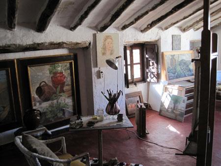 Estudio de la pintora Paquita Sabrafén – Lietor (Albacete)