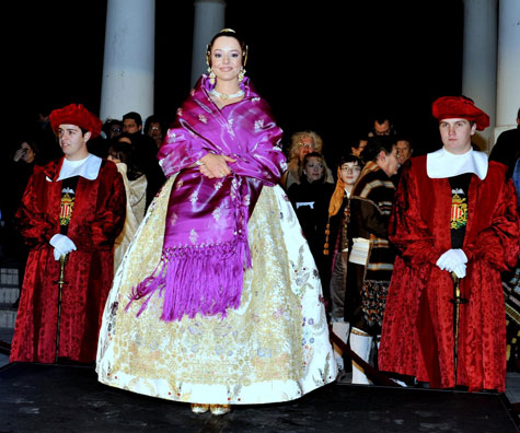 Amparo Granell Arce (Fallera Mayor 2012)
