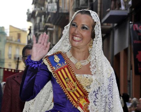 Sandra Muñoz - Fallera Mayor de Valencia 2012