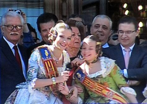 Falleras Mayores 2013