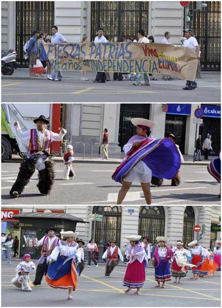 Fiesta ecuatoriana en Valencia