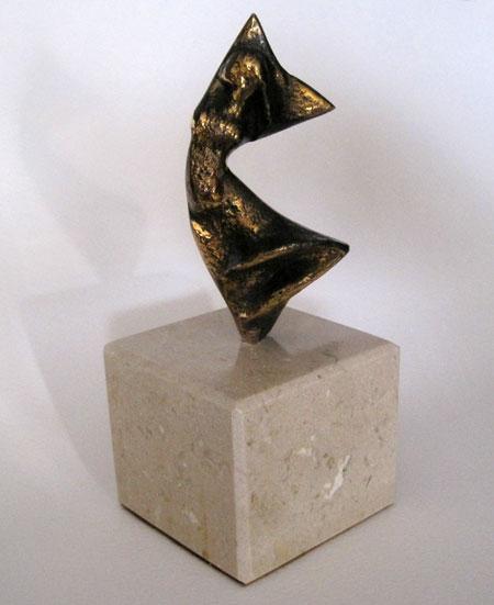 (Figura de bronce)
