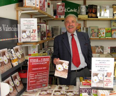 Firma del libro Huevos Fritos autor Francisco Ponce