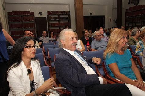 Hasbia MA (Pintora) Francisco Ponce (Escritor) Amparo Peris (Escritora)