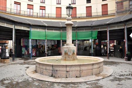 Fuente Plaza Redonda en Valencia