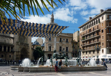 Basílica de la Virgen en Valencia