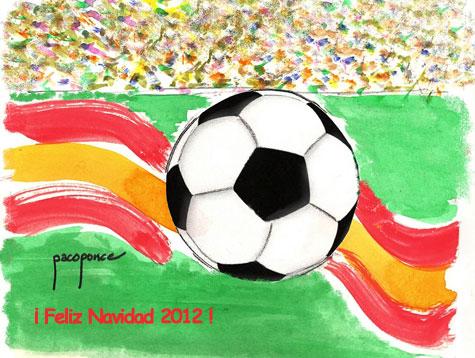 Felicitación Navideña 2012 para los amantes del Fútbol