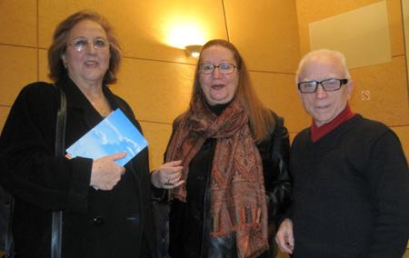Gloria de Frutos (Poeta) - Daria Rolland (Poeta) - Antonio Monzonís (Escritor)