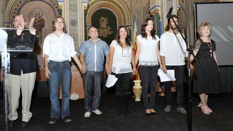 (Marcel,Jaime,Luis,Patricia,Esther,Rubén y Carmen)