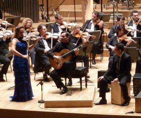 Anabel García del Castillo (Violín) - José Mª Gallardo del Rey (Guitarra)