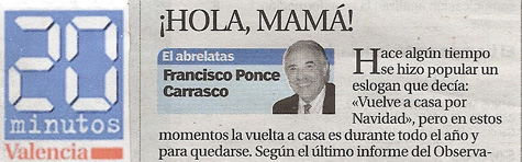 """¡Hola mamá! """"El Abrelatas"""" de Ponce - 20minutos"""