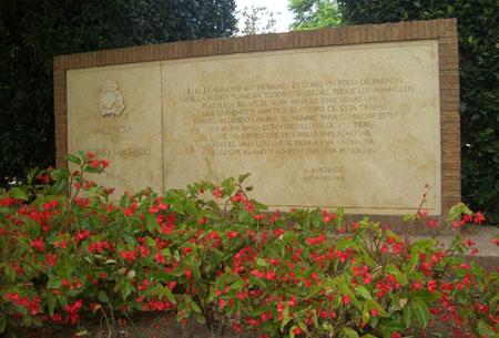 Homenaje al poeta Antonio Machado - Valencia