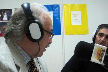 Francisco Ponce entrevistado en Radio Sol