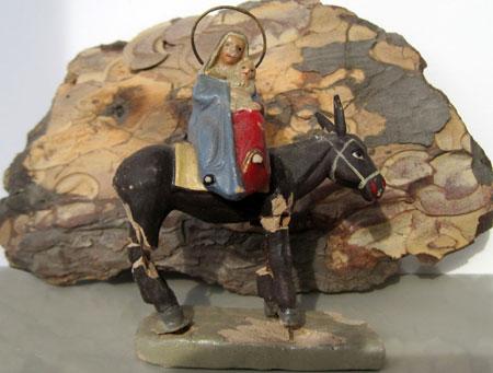 La huida a Egipto de la Virgen