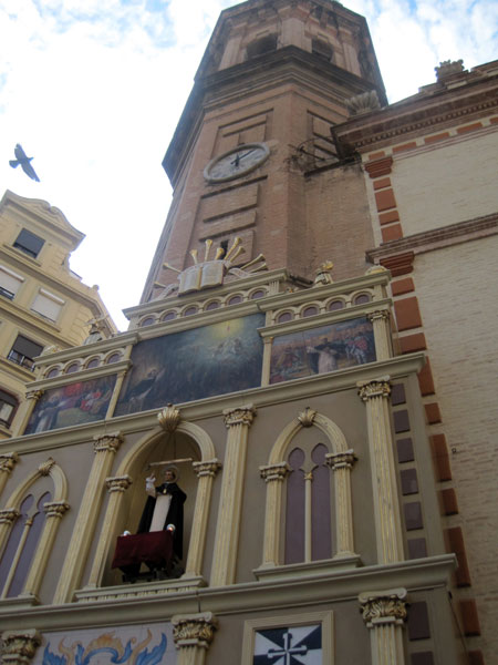 Altar de San Vicente en Russafa (San Valero)