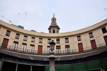 Parte alta interior Plaza Redonda