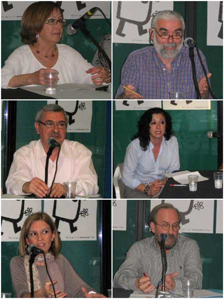 (María García-Lliveros - Miguel Morata - José V. Peiró - Ana Noguera - Mª Ángeles Chavarría - Manuel Ramírez)