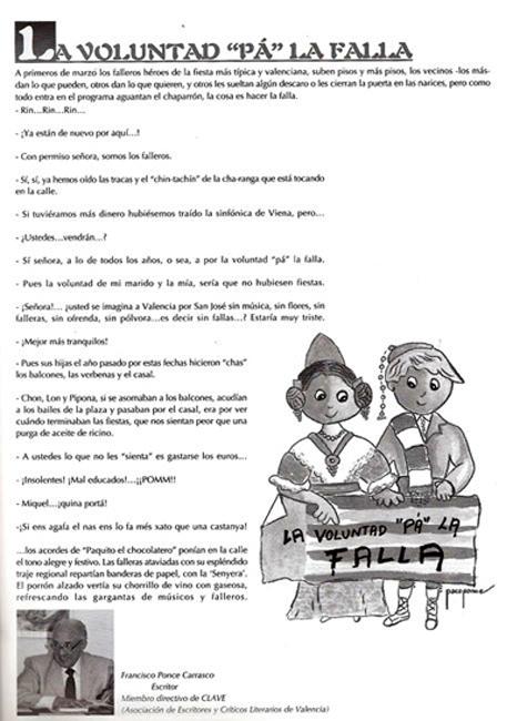 """La voluntad """"pa"""" la Falla"""