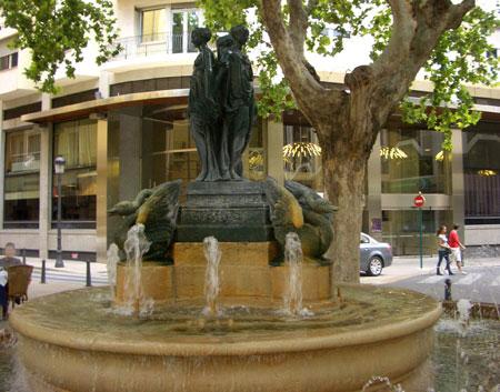 Fuente de 'Las tres ninfas' - Valencia