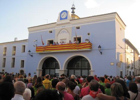 Pregón de fiestas 2013 en Santa Eulalia