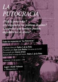 """Libro """"La Putocracia"""" de Pedro J. de la Peña"""