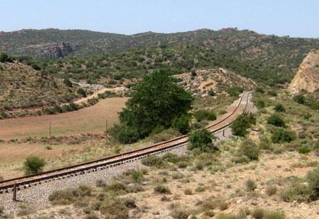 Línea férrea de Sierra Menera