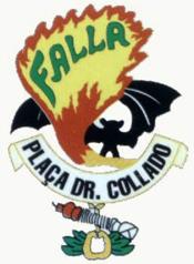 Escudo de la Falla Plaza Dr. Collado