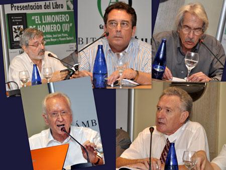 (Antonio Mayor-Blas Muñoz-Joaquin Riñones-Vicente Barbera-José Luis Prieto)