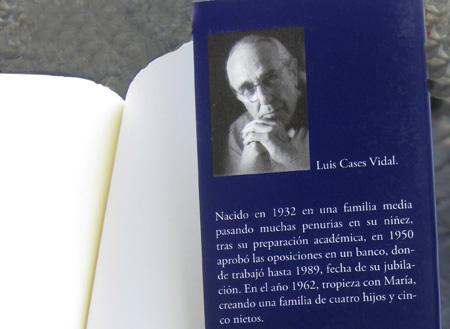Autor del libro Luis Cases Vidal