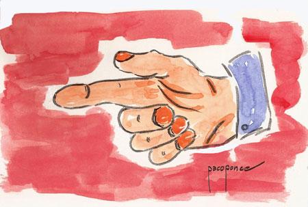 El dedo de acusar – El Ventanuco