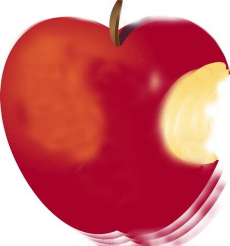 Manzana mordida