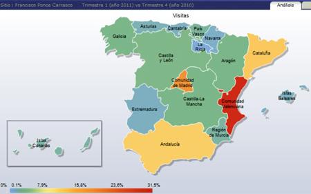 (Mapa situación en España)