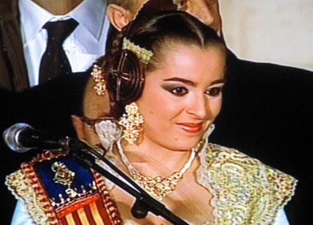 María Pilar Giménez - Fallera Mayor de Valencia 2010