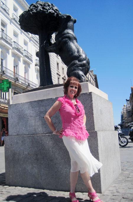 Marichu Fernandes, escritora Mexicana en Madrid