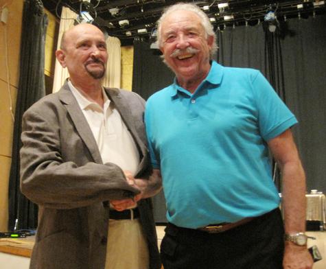 Marcel Mark (Autor-Director) y Francisco Ponce (Escritor)