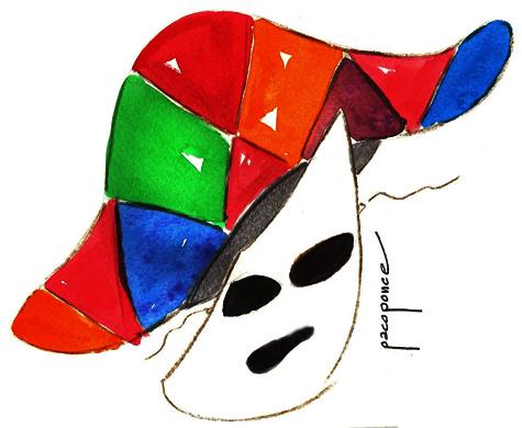 Mascara de carnaval 2013