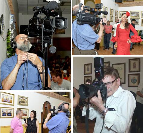 LiterNauta Tv. y prensa cubrieron el evento