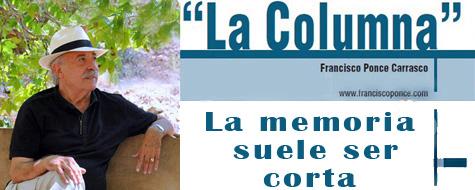 La Columna de prensa de Francisco Ponce