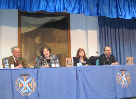 (Antonio Prima - Mª Teresa Espasa - Isabel Oliver - Celestino Álvarez-Cienfuegos)