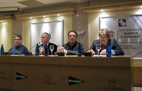 J.L. Bedins - J.C. Rodríguez - Blas Muñoz - Concha Prieto