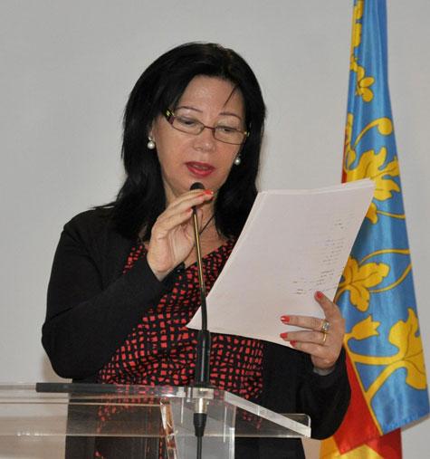 Milagros Pérez Villanueva (Secretaria del evento)