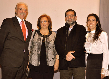 (Francisco Ponce - Gloria de Frutos - Modesto Muñoz - Patricia Cuenca)