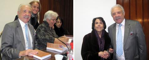 Momentos con autora y Mª Amparo Perís