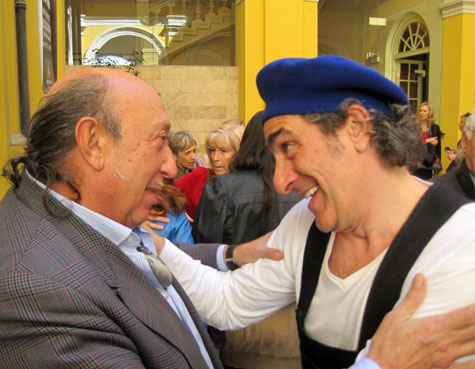 Francis Montesinos y Marco Caparrós