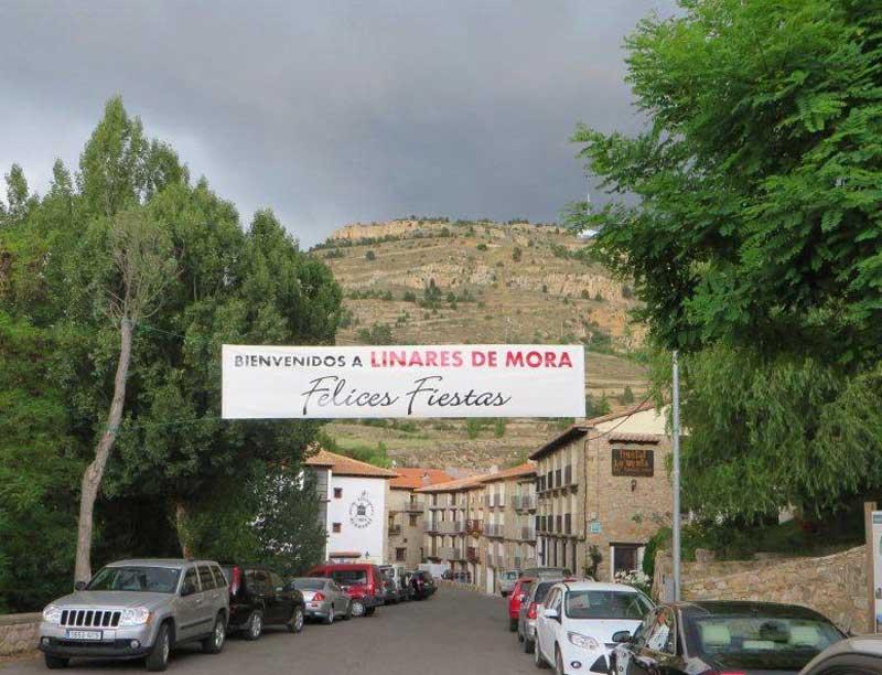 Fiestas en Linares de Mora