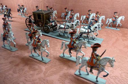 (Mosqueteros del Rey Felipe V (1700-1746) Autor: Sánquez)