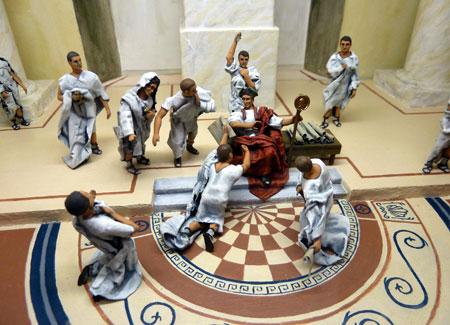 (La muerte del César. Autor: Facan)