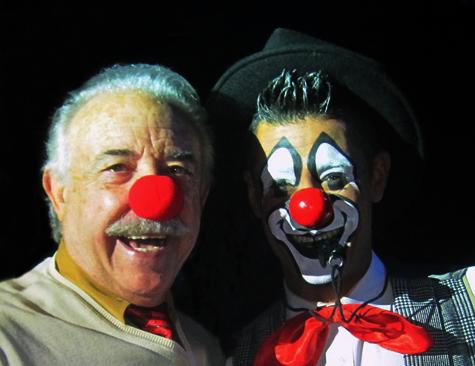 Francisco Ponce y el profesor